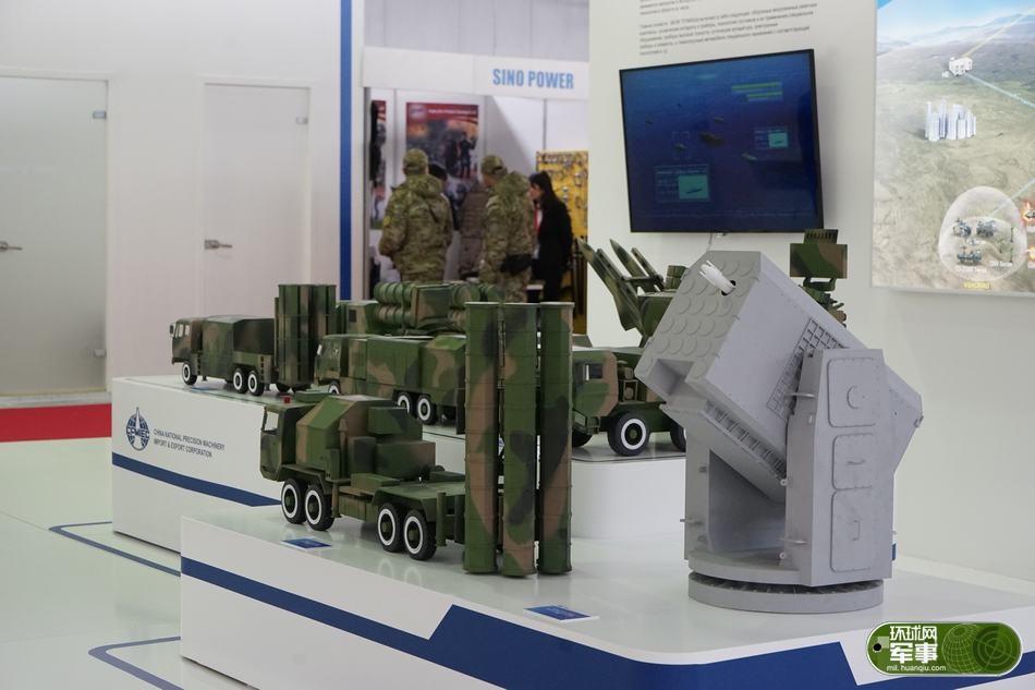 防务展的中国尖端武器
