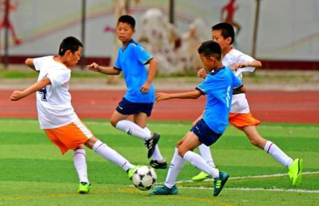 京津冀中小学校园足球邀请赛在廊坊开赛