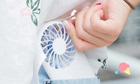 小风扇 帮你吹走三伏天的燥热