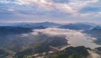 航拍:深山峻岭嶂叠高 青山绿水白云飘