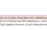 麻烦果然来了!京东公司在美国被调查!