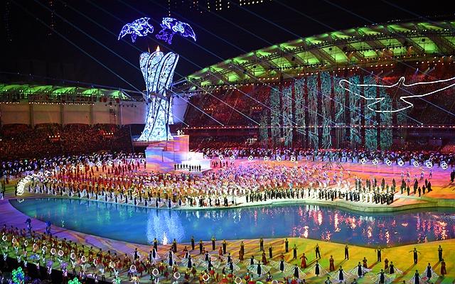 同築和平——第七屆世界軍運會開幕式側記