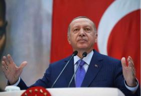 """见特朗普前,土耳其总统埃尔多安""""敲打""""美国"""