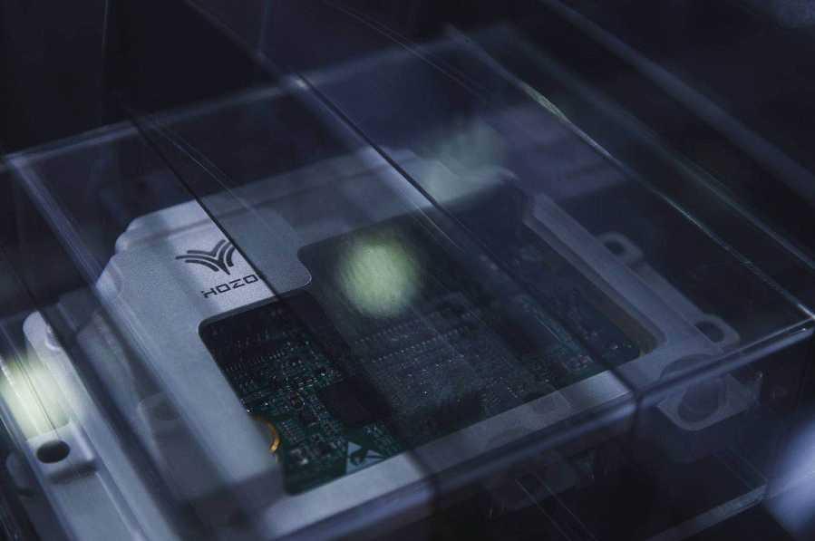 合众动力域控制器首次搭载哪吒汽车测试成功